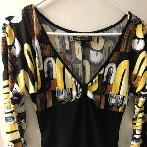 blouse  3/4  sleeve  size   m